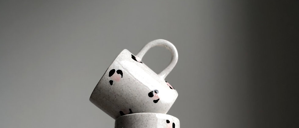 Pink Sand Leopard Mug