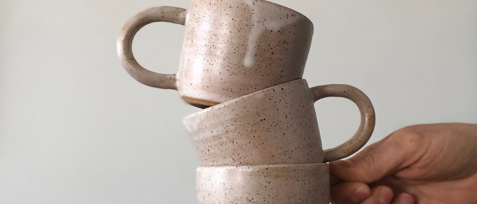Winter Stoneware Cup