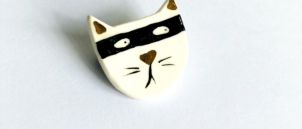 Cat Burglar Brooch