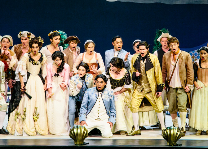 "Mercadante's ""I due Figaro"""