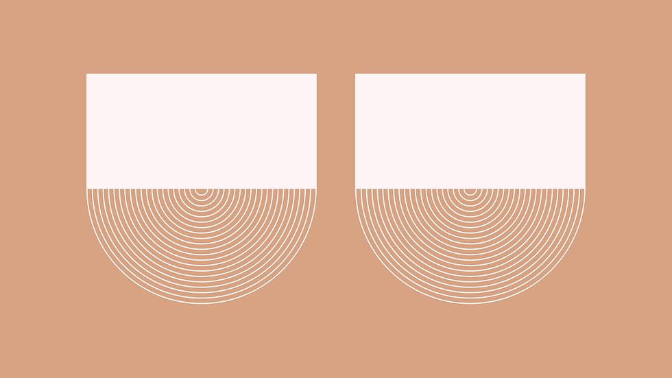 Minimal Breasts Print