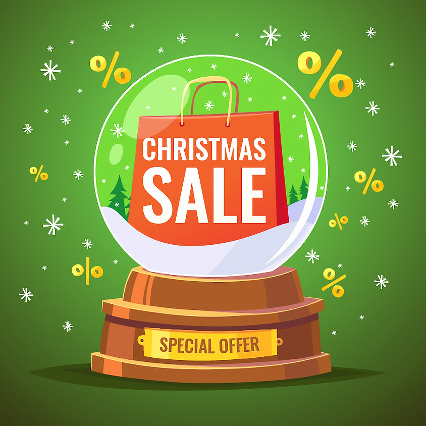 Get a massage half price for Christmas!