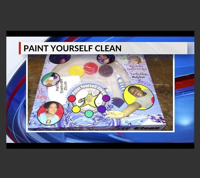 Paint Yourself Clean WREG News Clip