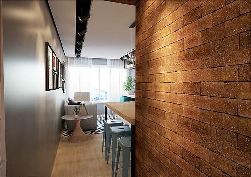 Michelli - cozinha sala lavanderia 1_Vie