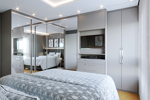 Luciane Boff - dormitorio casal 1 _View3