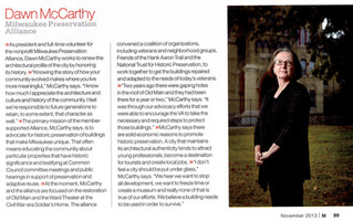 Dawn McCarthy Featured in M Magazine's List of Game Changers