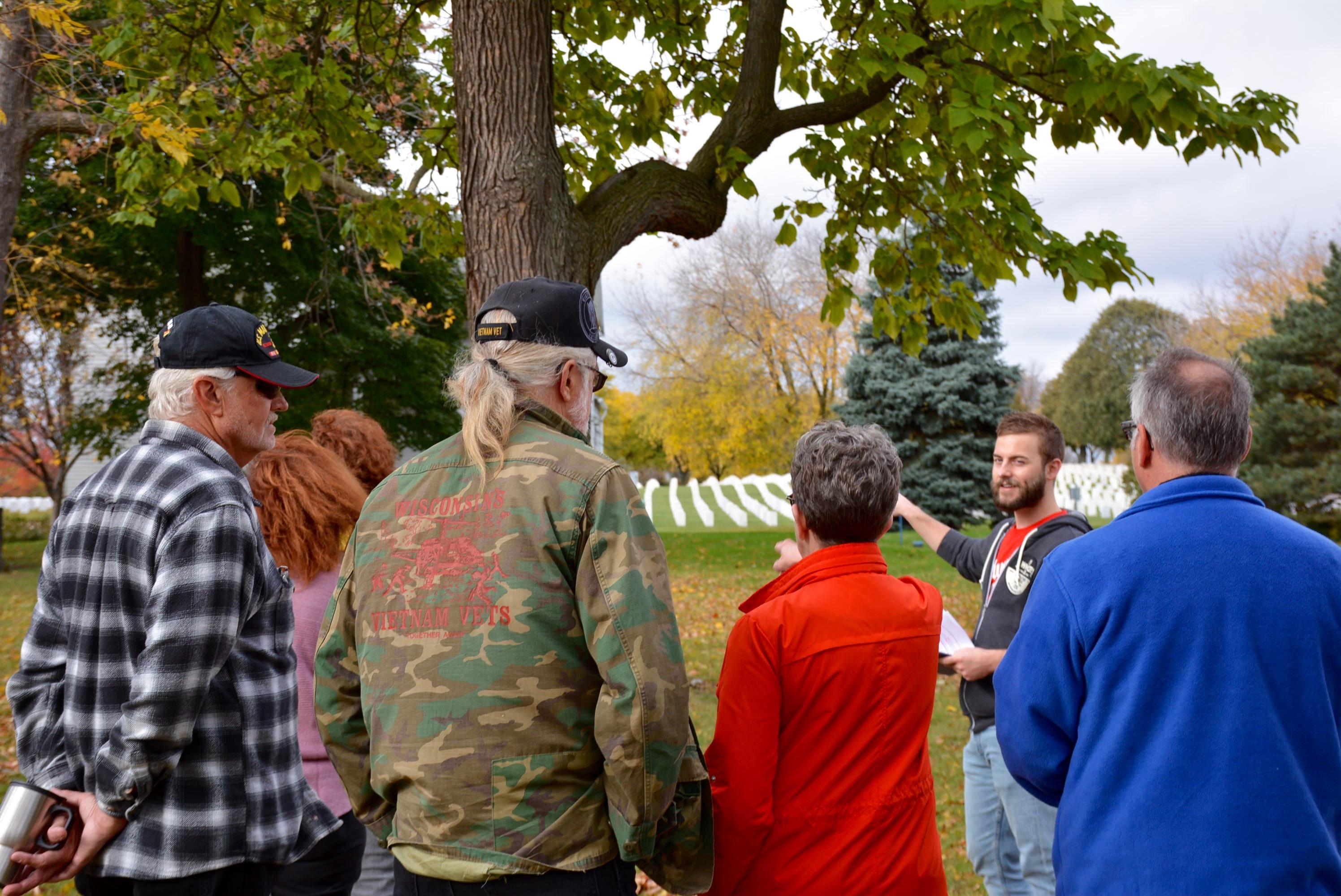 Allied Veterans Council Tour