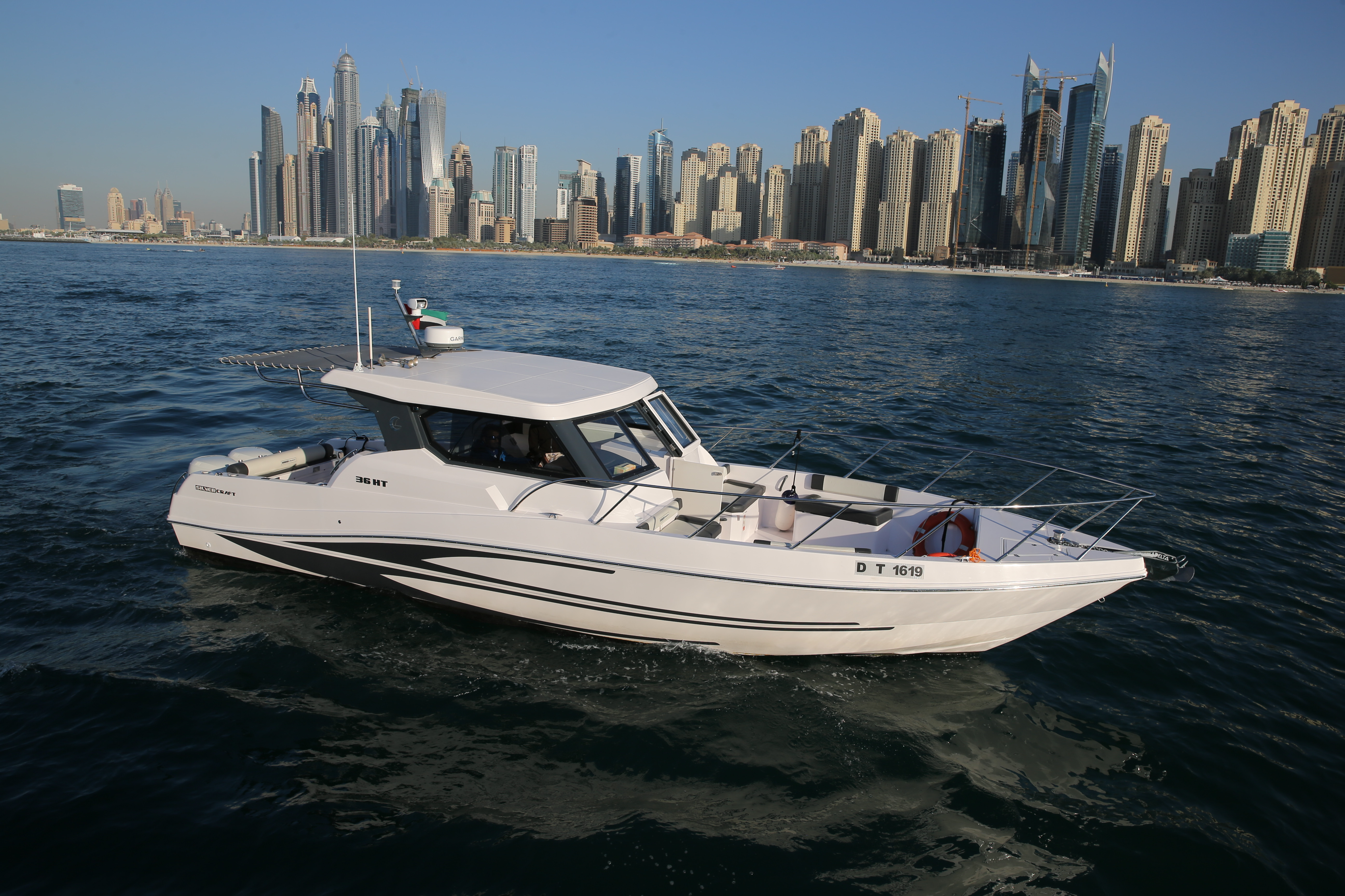 Speed Boat Cruise - Silver Craft 36HT 15