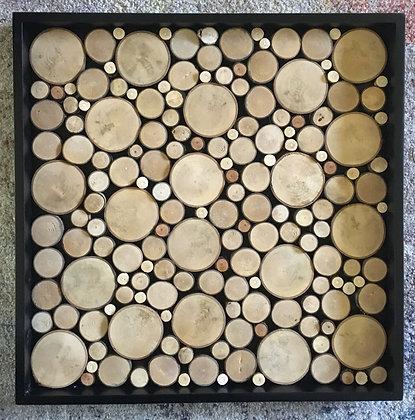 Wood Slice Wall Art 20x20