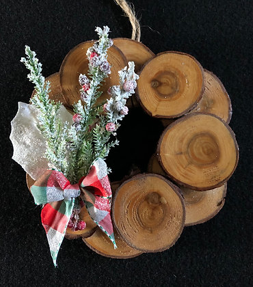 Mini wreath Ornament 6