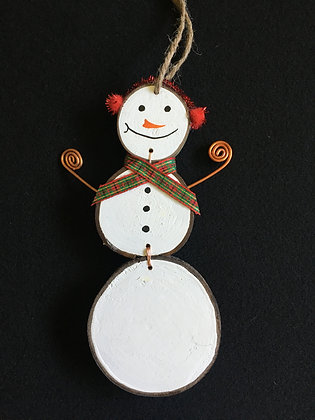Snow Man - red ear muffs