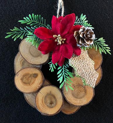 Mini wreath Ornament 3