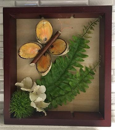 Wood Butterfly Art