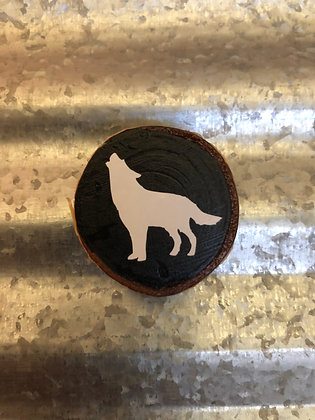Refrigerator Magnet - Wolf
