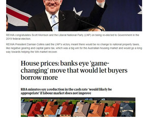 A LIBERAL WIN IN THE FEDERAL ELECTION | APRA SCRAPS 7% LOAN BUFFER | RBA SIGNALS RATE CUT | SIGNIFIC