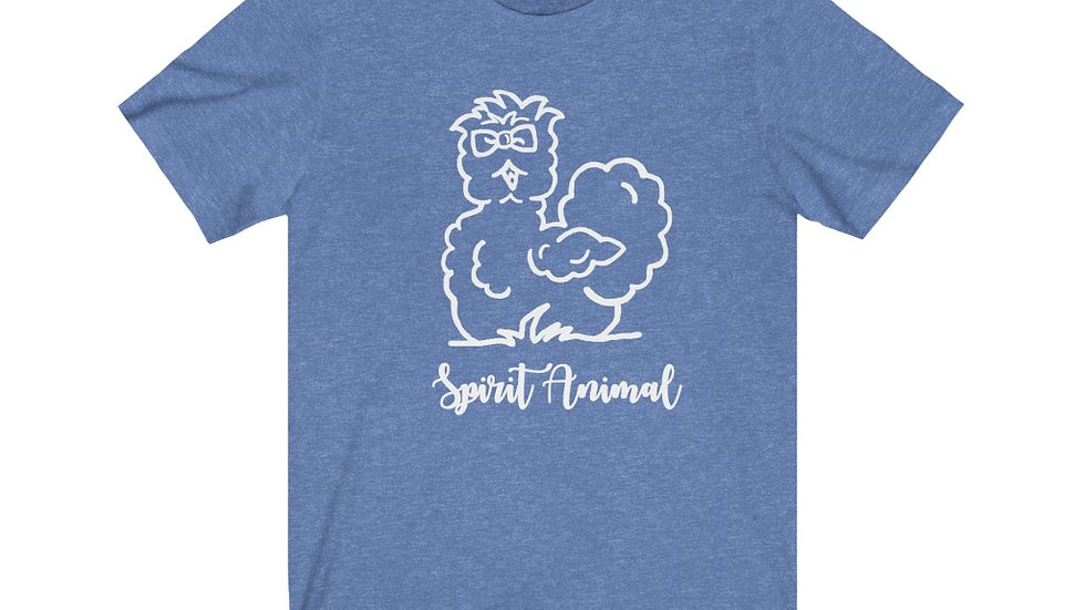 """Spirit Animal"" Unisex Jersey Short Sleeve Tee"
