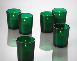 GREEN VOTIVE CUP