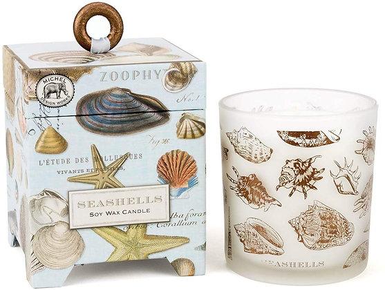 Seashells 14 Ounce Keepsake Box Candle