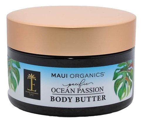 Maui Organics Pacific Ocean Passion Body Butter 4 Ounce