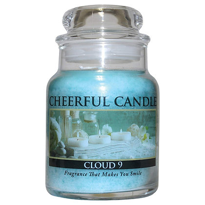 Cloud 9 6 Ounce Glass Baby Jar Candle