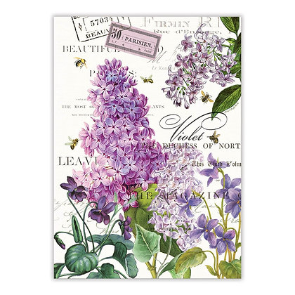 Lilac and Violets