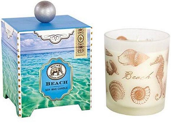 Beach 14 Ounce Keepsake Box Candle