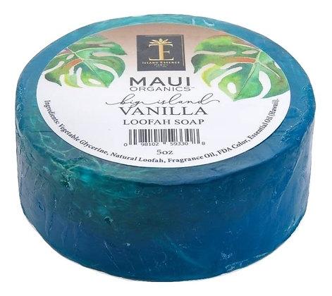 Maui Organics Big Island Vanilla Loofah Soap 5 Oz