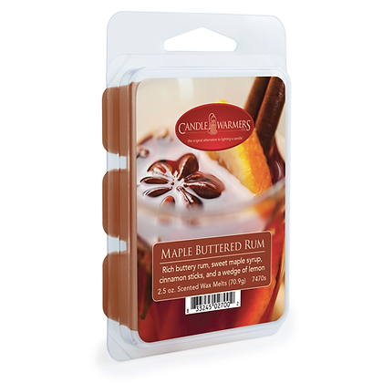 Maple Buttered Rum Melts 2.5 Oz