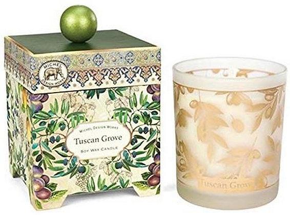 Tuscan Grove 14 Ounce Keepsake Box Candle