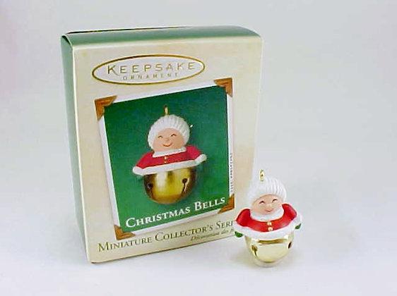 Christmas Bells Mrs Claus Hallmark Miniature