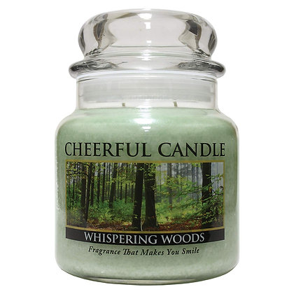 Whispering Woods 16 Ounce Glass Jar Candle