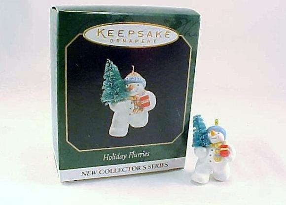 Holiday Flurries Hallmark Miniature