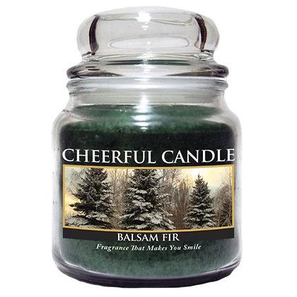 Balsam Fir 16 Ounce Glass Jar Candle