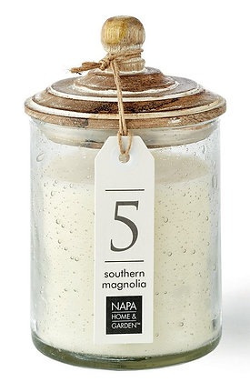 Southern Magnolia Gray Oak Scented Soy Wax Candle