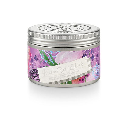 Fresh Cut Lilacs 4oz Soy Wax Candle Tin