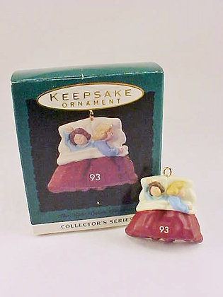 The Night Before Christmas Hallmark Miniature