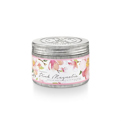 Pink Magnolia 4oz Soy Wax Candle Tin