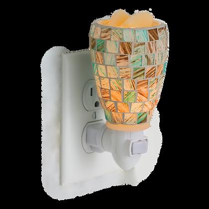 Sea Glass Illumination Plug In Melter