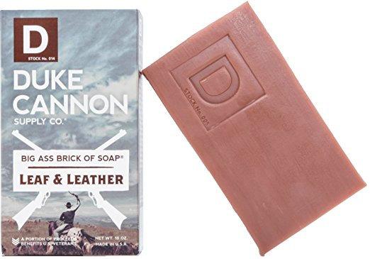 Duke Cannon Leaf and Leather Soap 10 Oz