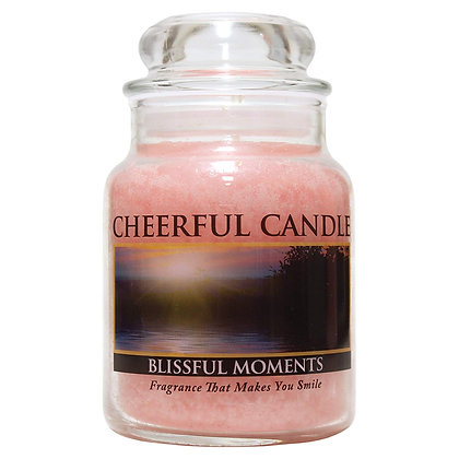 Blissful Moments 6 Ounce Glass Baby Jar Candle