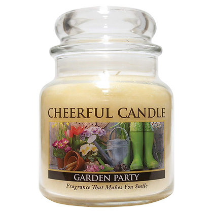 Garden Party 16 Ounce Glass Jar Candle
