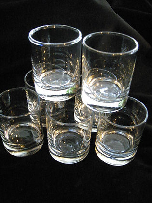 VOTIVE CUP CLEAR GLASS