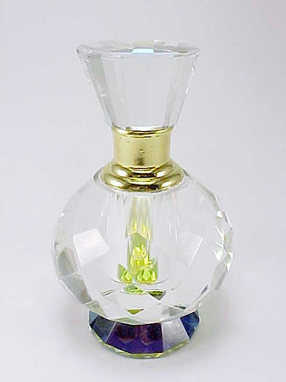 ROUND  DIAMOND CRYSTAL PERFUME BOTTLE