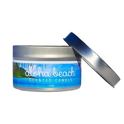 Aloha Beach Candle Tin