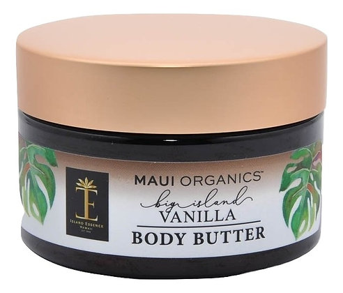 Maui Organics Big Island Vanilla Body Butter 4 Ounce