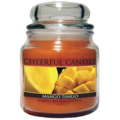 Mango Tango 16 Ounce Glass Jar Candle