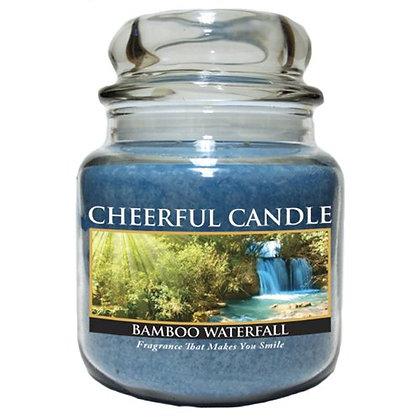 Bamboo Waterfall 16 Ounce Glass Jar Candle