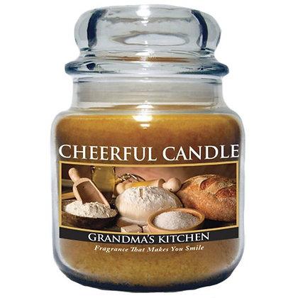 "Grandma""s Kitchen 16 Ounce Glass Jar Candle"