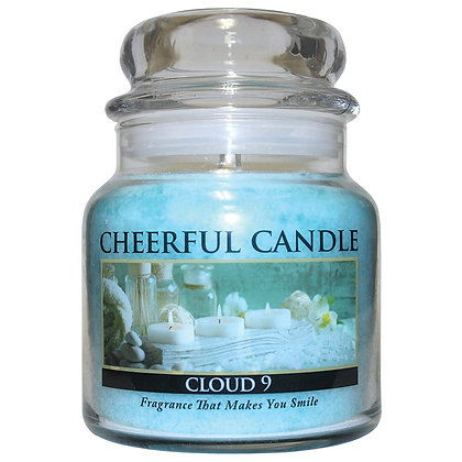 Cloud 9 16 Ounce Glass Jar Candle