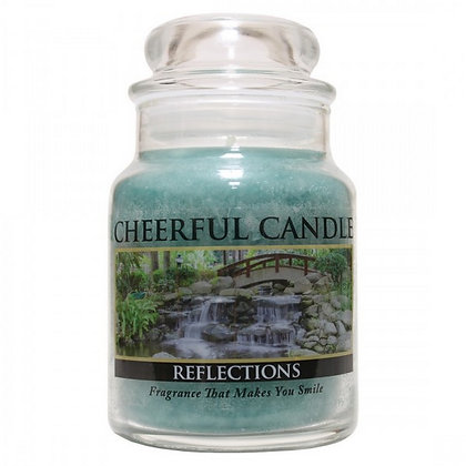 Reflections 6 Ounce Glass Baby Jar Candle